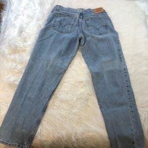 Vintage Levi's 550 Relaxed Tapered Fit Jeans